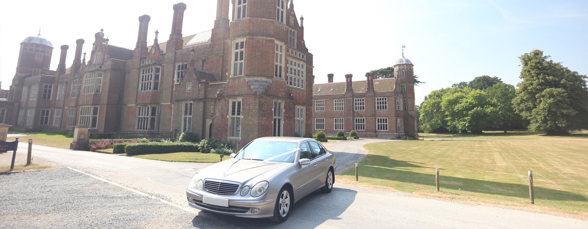 Chauffeur Driven Mercedes Car Banner 3